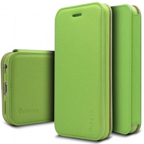 Funda Apple iPhone 6/6s iHosen® Shine Magnet Folio - Verde