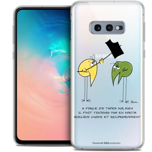 "Carcasa Crystal Gel Extra Fina Samsung Galaxy S10e (5.8"") Les Shadoks® A Force"