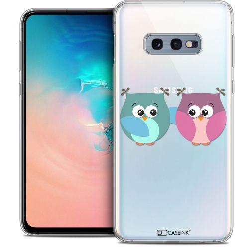 "Carcasa Crystal Gel Extra Fina Samsung Galaxy S10e (5.8"") Love Hibous à deux"