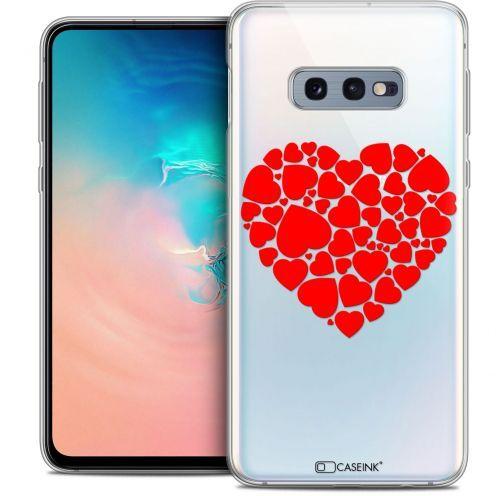 "Carcasa Crystal Gel Extra Fina Samsung Galaxy S10e (5.8"") Love Coeur des Coeurs"