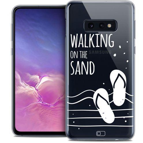 "Carcasa Crystal Gel Extra Fina Samsung Galaxy S10e (5.8"") Summer Walking on the Sand"