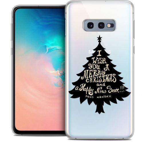 "Carcasa Crystal Gel Extra Fina Samsung Galaxy S10e (5.8"") Noël 2017 XOXO Tree"