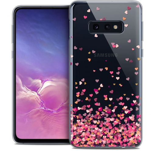 "Carcasa Crystal Gel Extra Fina Samsung Galaxy S10e (5.8"") Sweetie Heart Flakes"