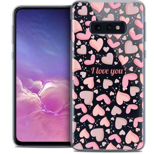 "Carcasa Crystal Gel Extra Fina Samsung Galaxy S10e (5.8"") Love I Love You"