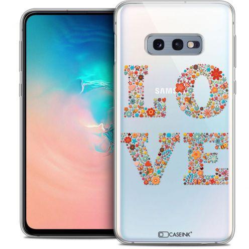 "Carcasa Crystal Gel Extra Fina Samsung Galaxy S10e (5.8"") Summer Love Flowers"