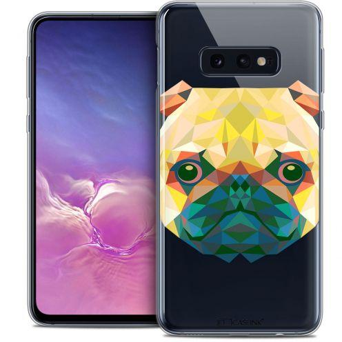 "Carcasa Crystal Gel Extra Fina Samsung Galaxy S10e (5.8"") Polygon Animals Perro"