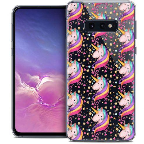 "Carcasa Crystal Gel Extra Fina Samsung Galaxy S10e (5.8"") Fantasia Licorne Etoilée"