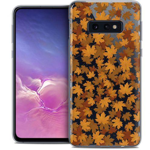 "Carcasa Crystal Gel Extra Fina Samsung Galaxy S10e (5.8"") Autumn 16 Feuilles"
