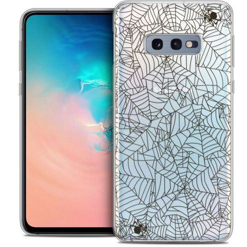 "Carcasa Crystal Gel Extra Fina Samsung Galaxy S10e (5.8"") Halloween Spooky Spider"