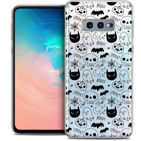 "Carcasa Crystal Gel Extra Fina Samsung Galaxy S10e (5.8"") Halloween Spooky"