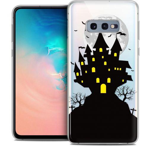 "Carcasa Crystal Gel Extra Fina Samsung Galaxy S10e (5.8"") Halloween Castle Scream"