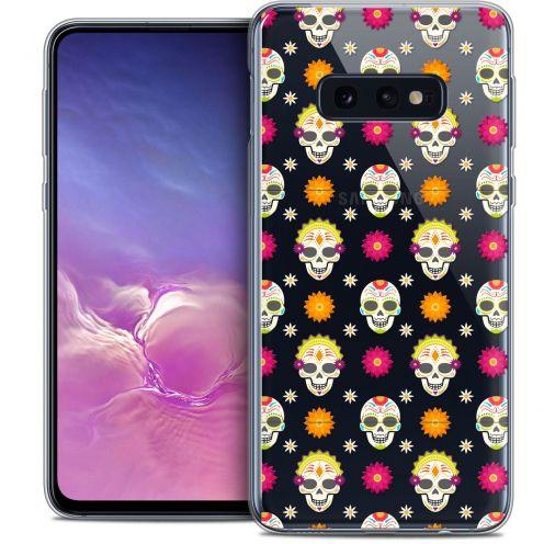 """Carcasa Crystal Gel Extra Fina Samsung Galaxy S10e (5.8"""") Halloween Skull Halloween"""