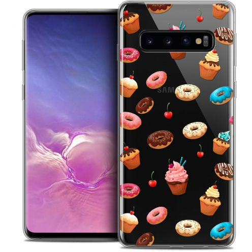 "Carcasa Crystal Gel Extra Fina Samsung Galaxy S10 (6.1"") Foodie Donuts"