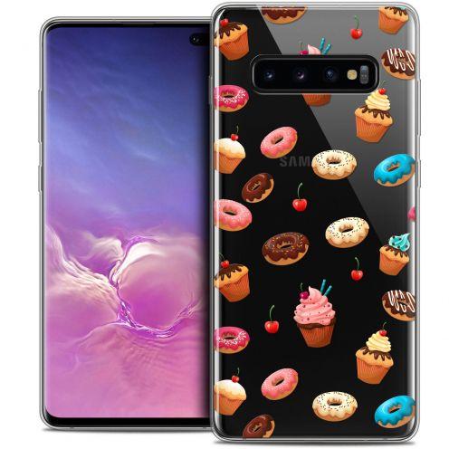 "Carcasa Crystal Gel Extra Fina Samsung Galaxy S10+ (6.4"") Foodie Donuts"