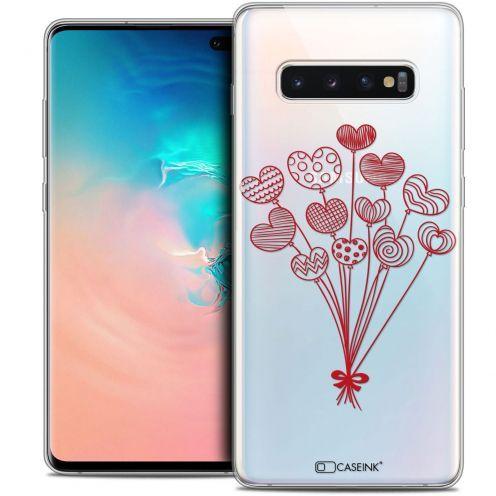 "Carcasa Crystal Gel Extra Fina Samsung Galaxy S10+ (6.4"") Love Ballons d'amour"