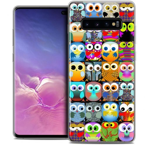 "Carcasa Crystal Gel Extra Fina Samsung Galaxy S10+ (6.4"") Claude Hibous"