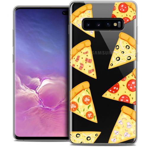 "Carcasa Crystal Gel Extra Fina Samsung Galaxy S10+ (6.4"") Foodie Pizza"