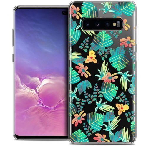 "Carcasa Crystal Gel Extra Fina Samsung Galaxy S10+ (6.4"") Spring Tropical"