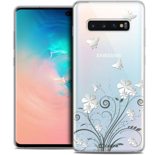 "Carcasa Crystal Gel Extra Fina Samsung Galaxy S10+ (6.4"") Summer Papillons"
