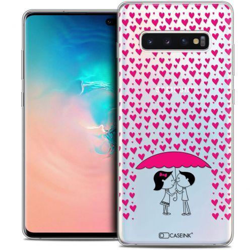 """Carcasa Crystal Gel Extra Fina Samsung Galaxy S10+ (6.4"""") Love Pluie d'Amour"""