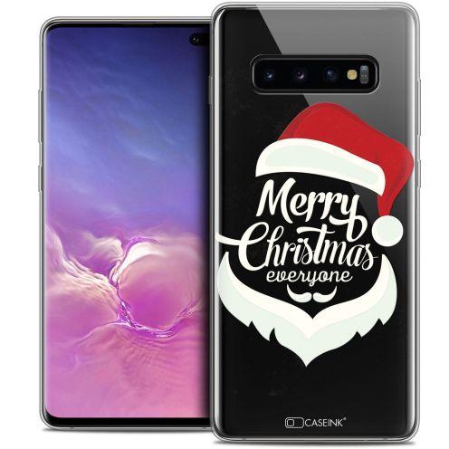 "Carcasa Crystal Gel Extra Fina Samsung Galaxy S10+ (6.4"") Noël 2017 Merry Everyone"
