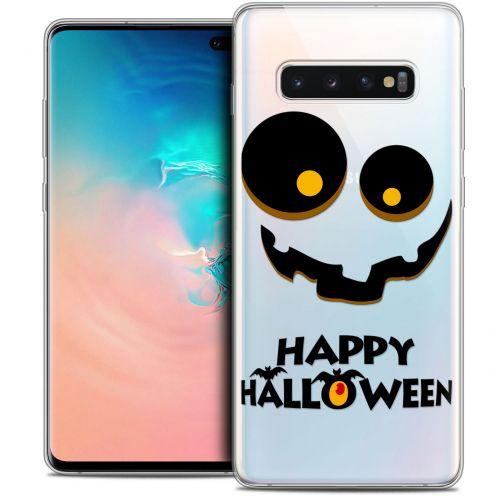 """Carcasa Crystal Gel Extra Fina Samsung Galaxy S10+ (6.4"""") Halloween Happy"""