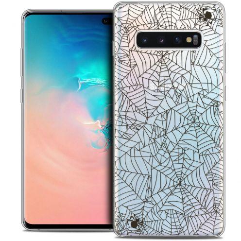 "Carcasa Crystal Gel Extra Fina Samsung Galaxy S10+ (6.4"") Halloween Spooky Spider"