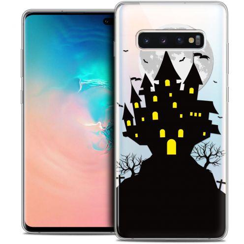 "Carcasa Crystal Gel Extra Fina Samsung Galaxy S10+ (6.4"") Halloween Castle Scream"