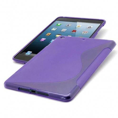 Casco iPad púrpura Mini Tpu fundamentos S-Line