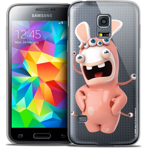 Carcasa Crystal Galaxy S5 Mini Lapins Crétins™ Extraterrestre