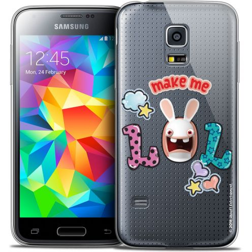 Carcasa Crystal Galaxy S5 Mini Lapins Crétins™ LOL