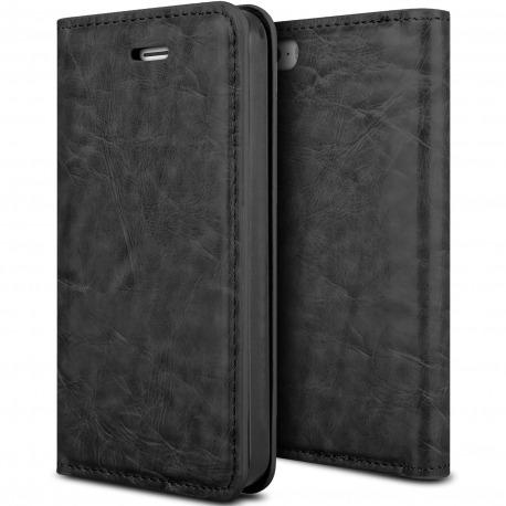 da40cfbe284 Smart Cover iPhone® 5 / 5S / SE de cuero sintético Completa Flor ...