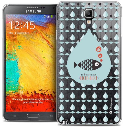 Carcasa Crystal Extra Fina Galaxy Note 3 Neo / Lite Petits Grains® Le Poisson