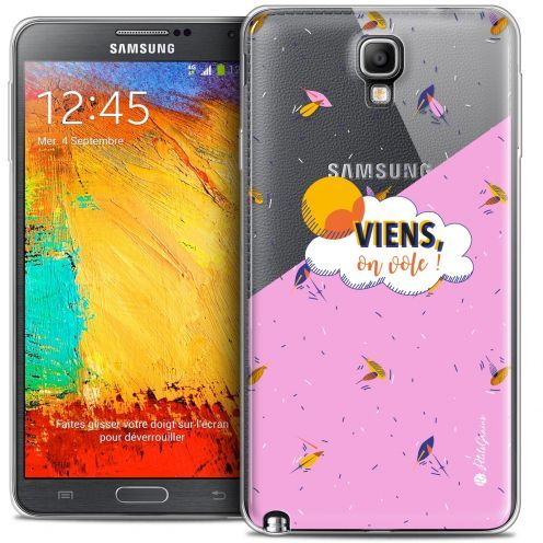 Carcasa Crystal Extra Fina Galaxy Note 3 Neo / Lite Petits Grains® VIENS, On Vole !