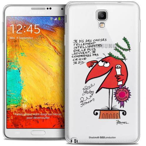 Carcasa Crystal Extra Fina Galaxy Note 3 Neo / Lite Les Shadoks® Intelligent
