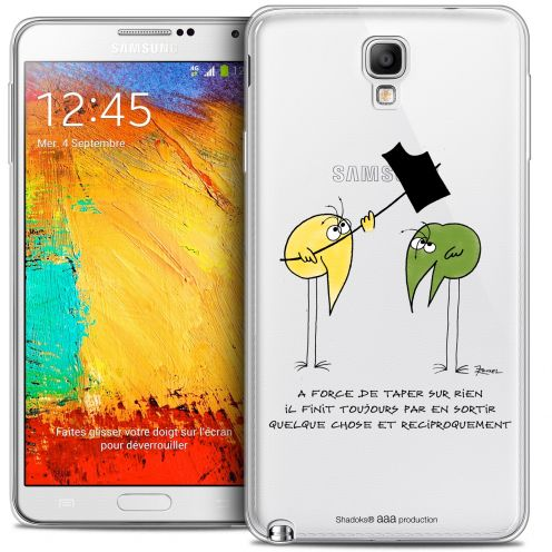Carcasa Crystal Extra Fina Galaxy Note 3 Neo / Lite Les Shadoks® A Force