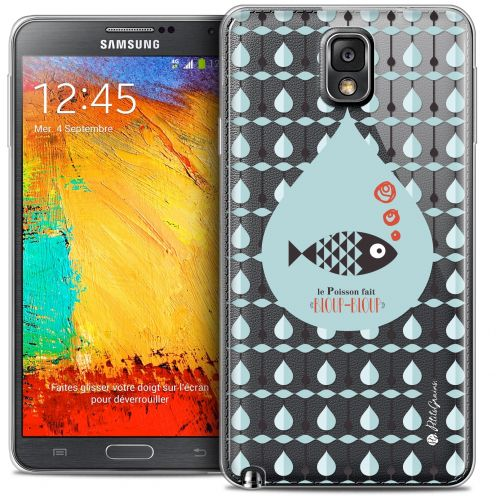 Carcasa Crystal Extra Fina Galaxy Note 3 Petits Grains® Le Poisson