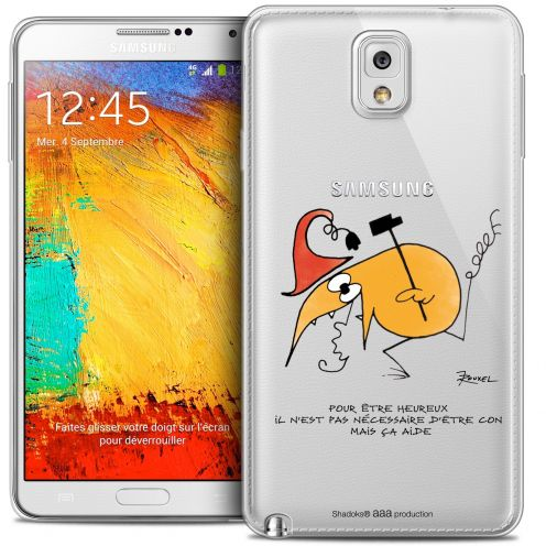 Carcasa Crystal Extra Fina Galaxy Note 3 Les Shadoks® Pour Être Heureux