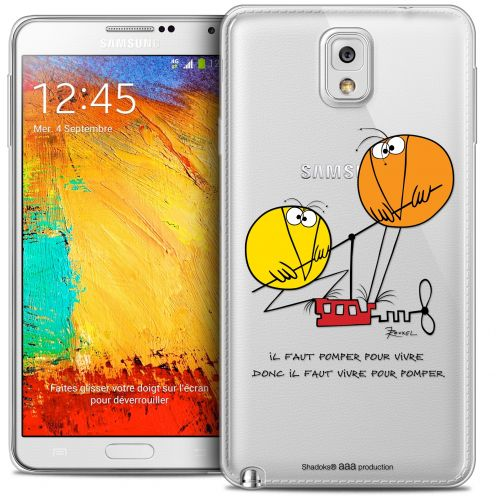 Carcasa Crystal Extra Fina Galaxy Note 3 Les Shadoks® Vivre Pour Pomper