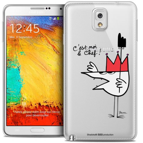 Carcasa Crystal Extra Fina Galaxy Note 3 Les Shadoks® Le Chef