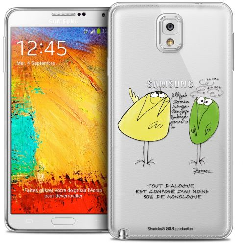 Carcasa Crystal Extra Fina Galaxy Note 3 Les Shadoks® Le Dialogue
