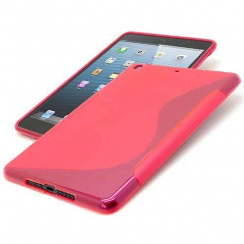 Casco iPad Mini Tpu fundamentos S-línea roja