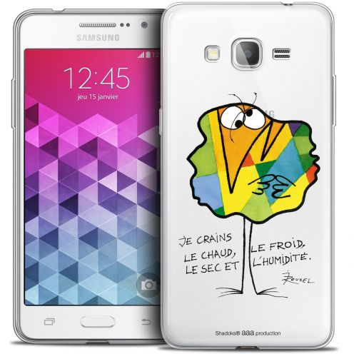 Carcasa Crystal Extra Fina Galaxy Grand Prime Les Shadoks® Chaud ou Froid