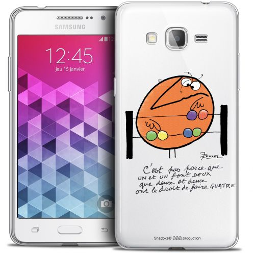 Carcasa Crystal Extra Fina Galaxy Grand Prime Les Shadoks® Mathématique