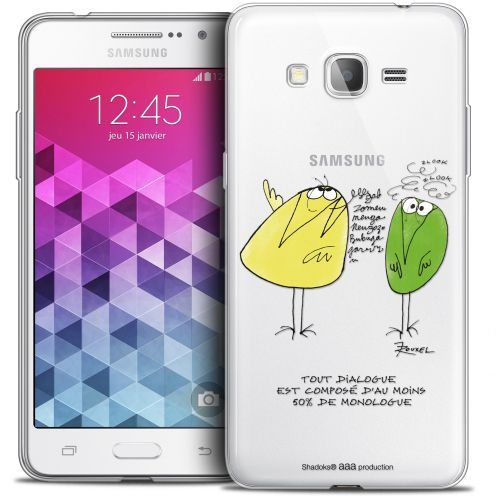 Carcasa Crystal Extra Fina Galaxy Grand Prime Les Shadoks® Le Dialogue