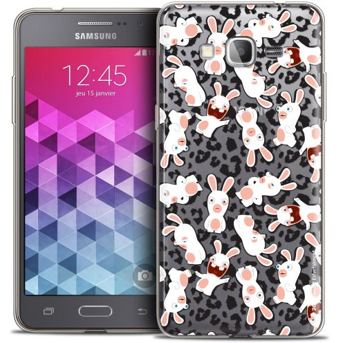 Carcasa Crystal Galaxy Grand Prime Lapins Crétins™ Leopard Pattern