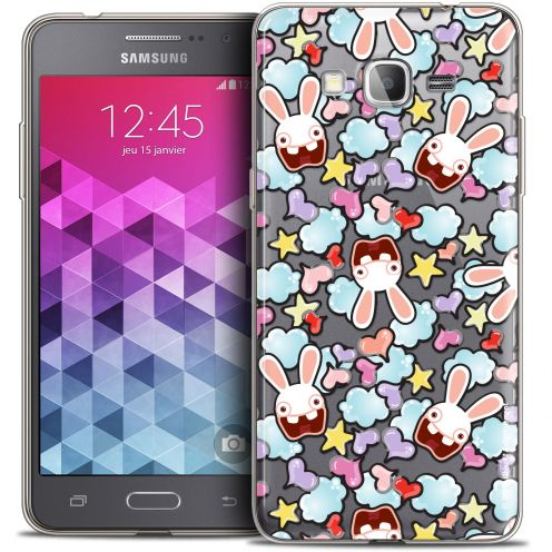 Carcasa Crystal Galaxy Grand Prime Lapins Crétins™ Love Pattern