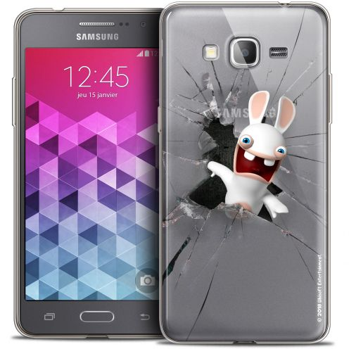 Carcasa Crystal Galaxy Grand Prime Lapins Crétins™ Breaking Glass
