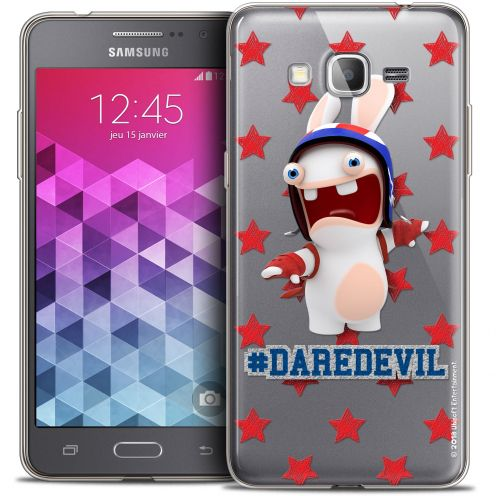 Carcasa Crystal Galaxy Grand Prime Lapins Crétins™ Dare Devil