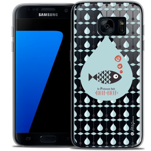 Carcasa Crystal Extra Fina Galaxy S7 Petits Grains® Le Poisson